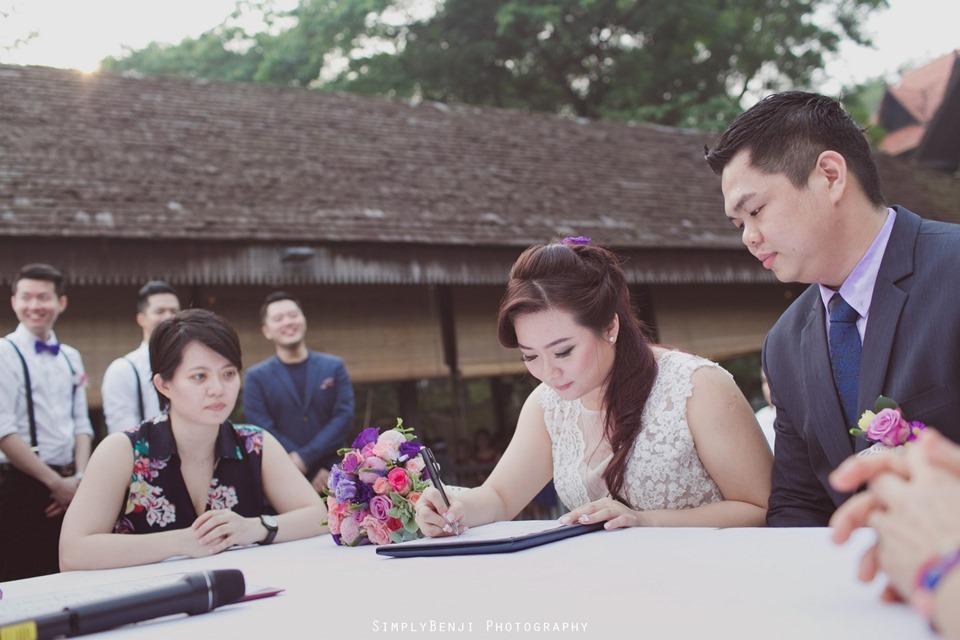 Kuala Lumpur ROM  Ceremony and Wedding Reception at Gita Bayu Serdang_106