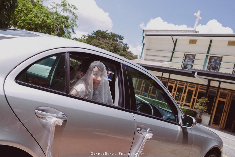 Church Wedding Ceremony Petaling Jaya St. Francis Xavier's SFX and Renaissance Hotel KL _KL Photographer_012