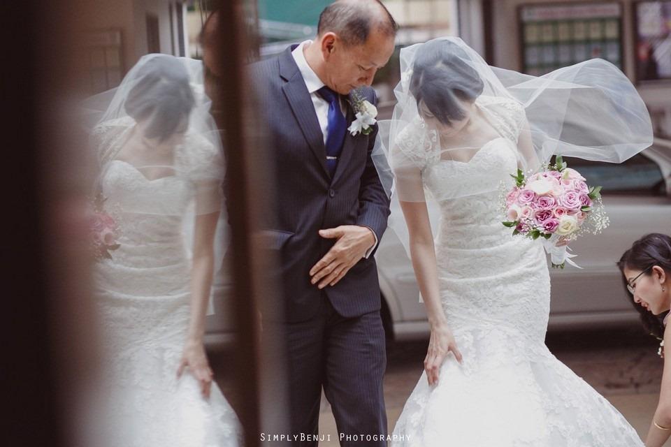 Church Wedding Ceremony Petaling Jaya St. Francis Xavier's SFX and Renaissance Hotel KL _KL Photographer_013