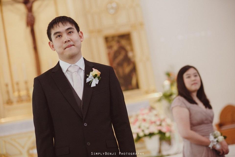 Church Wedding Ceremony Petaling Jaya St. Francis Xavier's SFX and Renaissance Hotel KL _KL Photographer_014