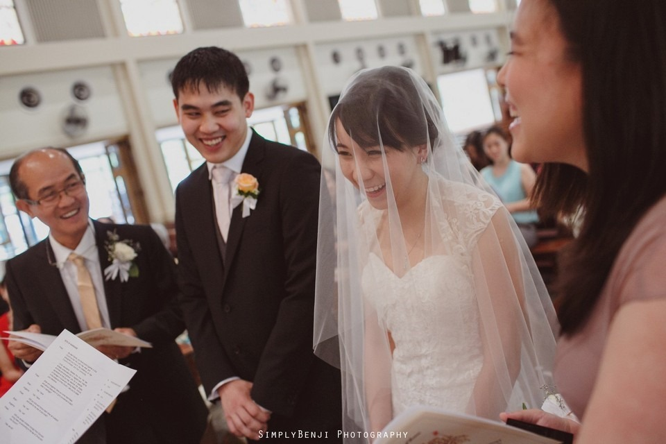 Church Wedding Ceremony Petaling Jaya St. Francis Xavier's SFX and Renaissance Hotel KL _KL Photographer_016