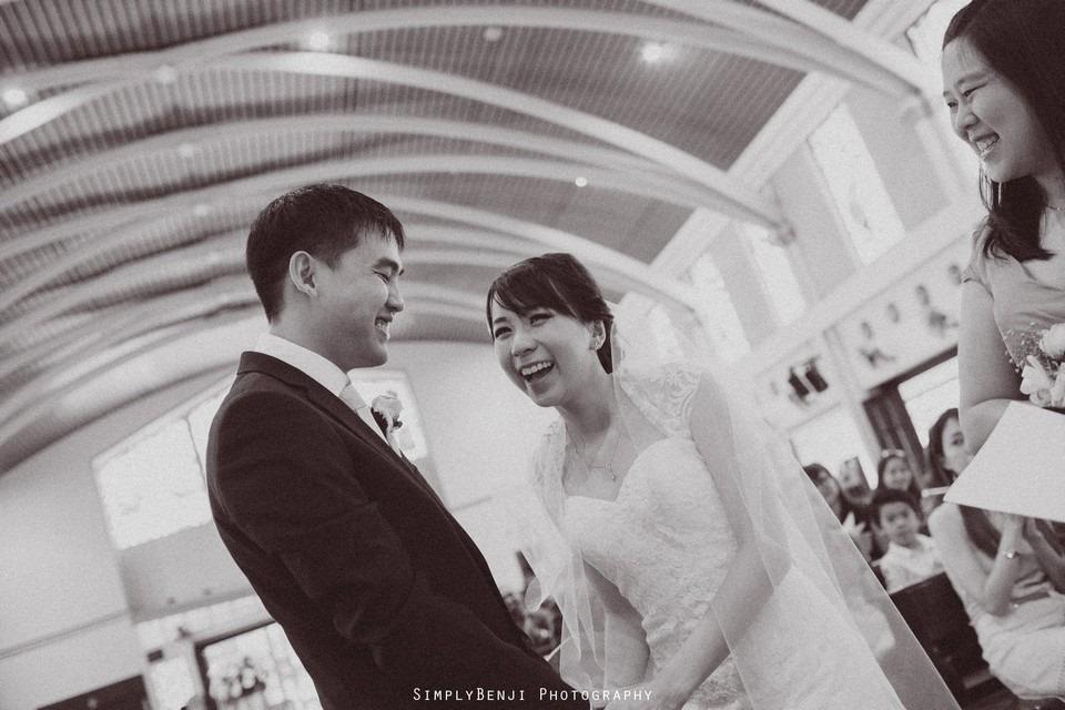 Church Wedding Ceremony Petaling Jaya St. Francis Xavier's SFX and Renaissance Hotel KL _KL Photographer_019