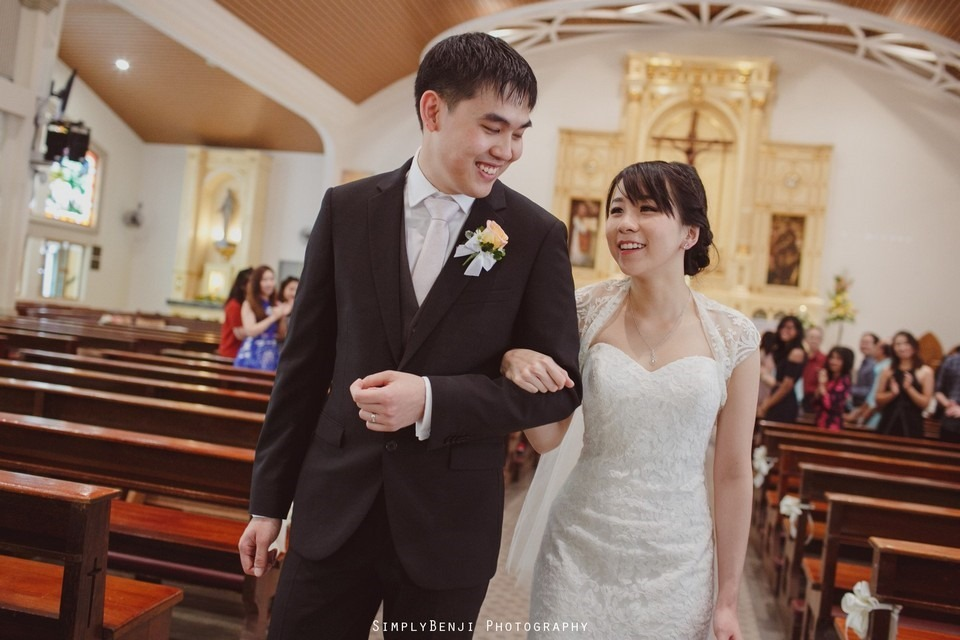 Church Wedding Ceremony Petaling Jaya St. Francis Xavier's SFX and Renaissance Hotel KL _KL Photographer_024