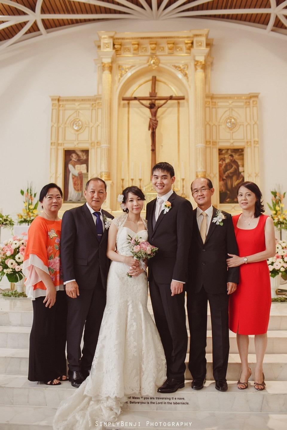 Church Wedding Ceremony Petaling Jaya St. Francis Xavier's SFX and Renaissance Hotel KL _KL Photographer_025