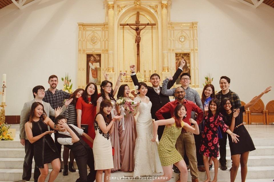 Church Wedding Ceremony Petaling Jaya St. Francis Xavier's SFX and Renaissance Hotel KL _KL Photographer_026