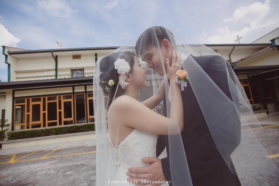 Church Wedding Ceremony Petaling Jaya St. Francis Xavier's SFX and Renaissance Hotel KL _KL Photographer_030