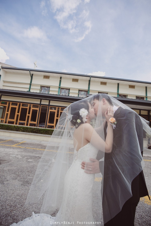 Church Wedding Ceremony Petaling Jaya St. Francis Xavier's SFX and Renaissance Hotel KL _KL Photographer_031