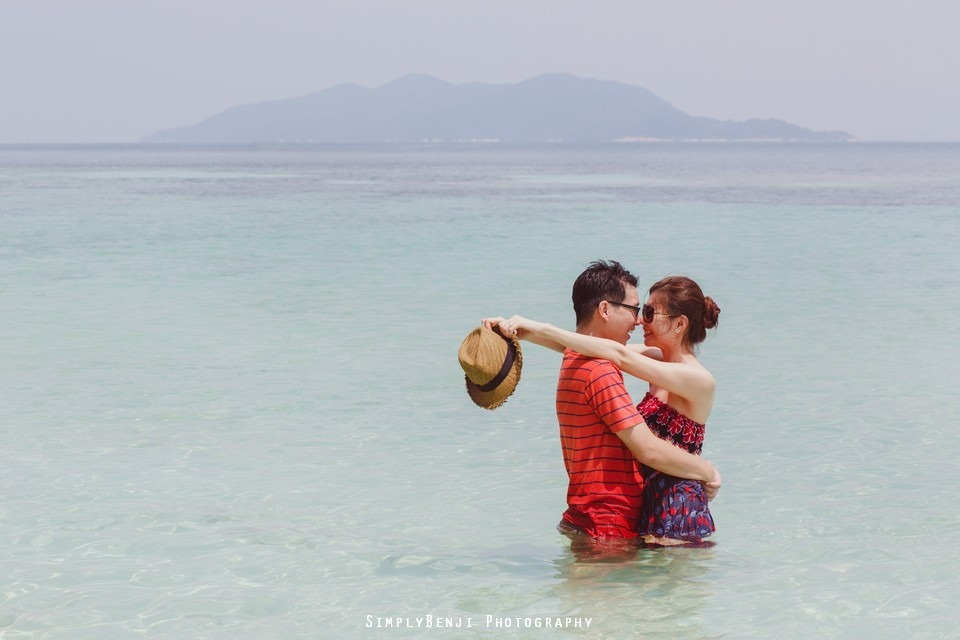 Pre-wedding at Pulau Rawa_KL Photographer_001
