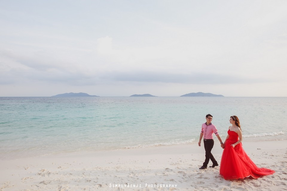Pre-wedding at Pulau Rawa_KL Photographer_005