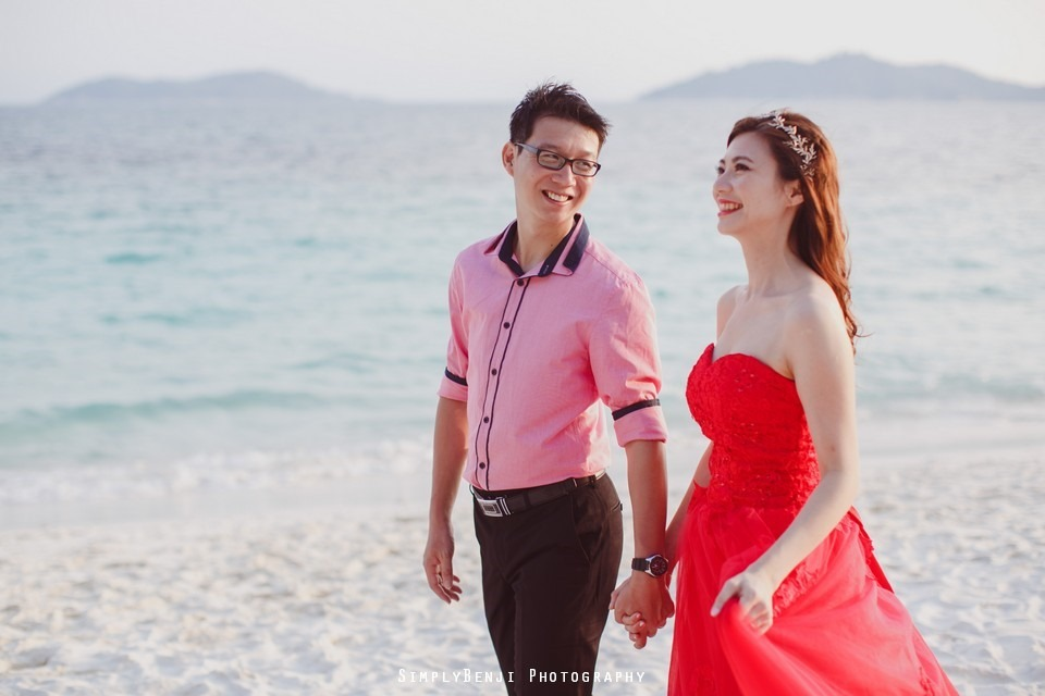 Pre-wedding at Pulau Rawa_KL Photographer_006
