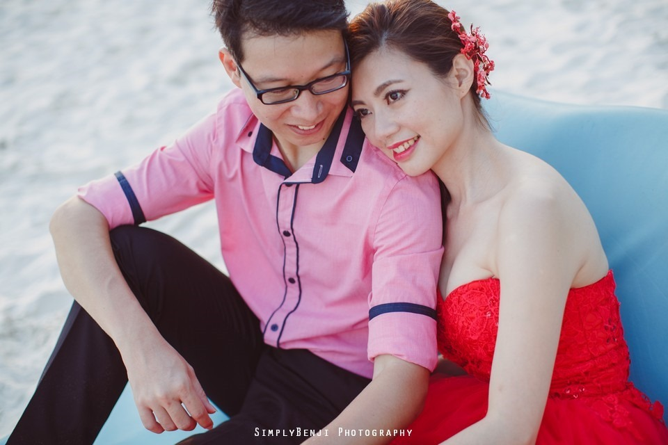 Pre-wedding at Pulau Rawa_KL Photographer_007