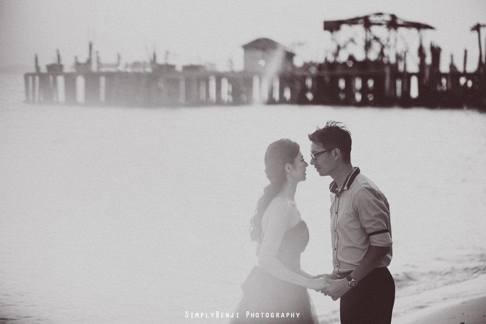 Pre-wedding at Pulau Rawa_KL Photographer_008