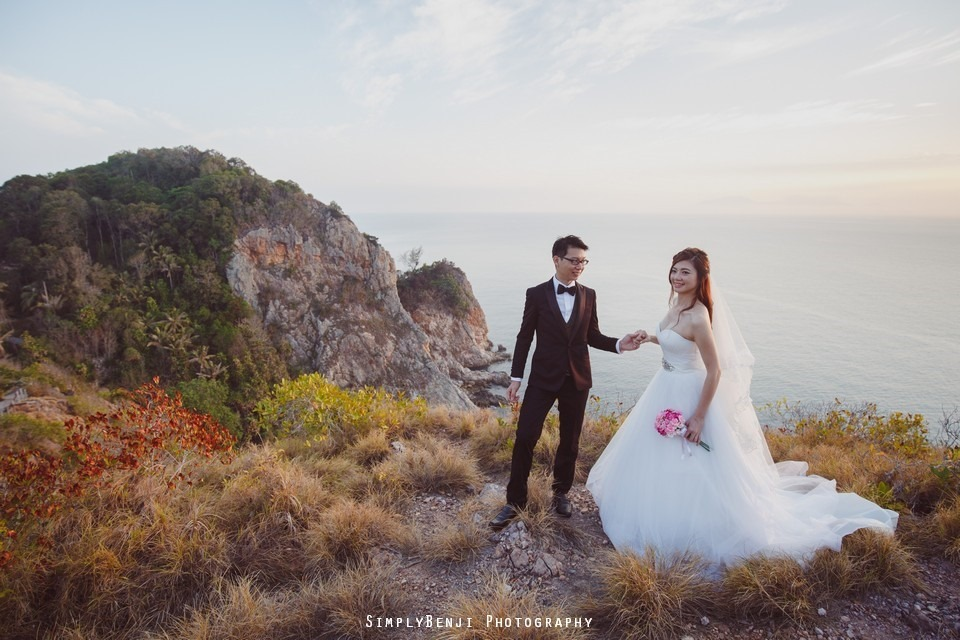Pre-wedding at Pulau Rawa_KL Photographer_013