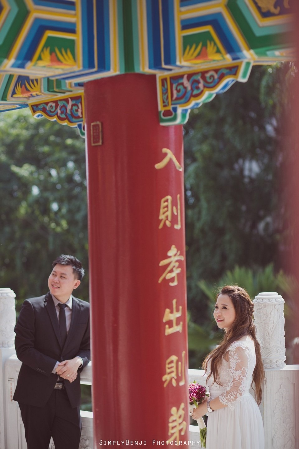 ROM Thean Hou Temple Engagement Portrait _KL Photographer_011
