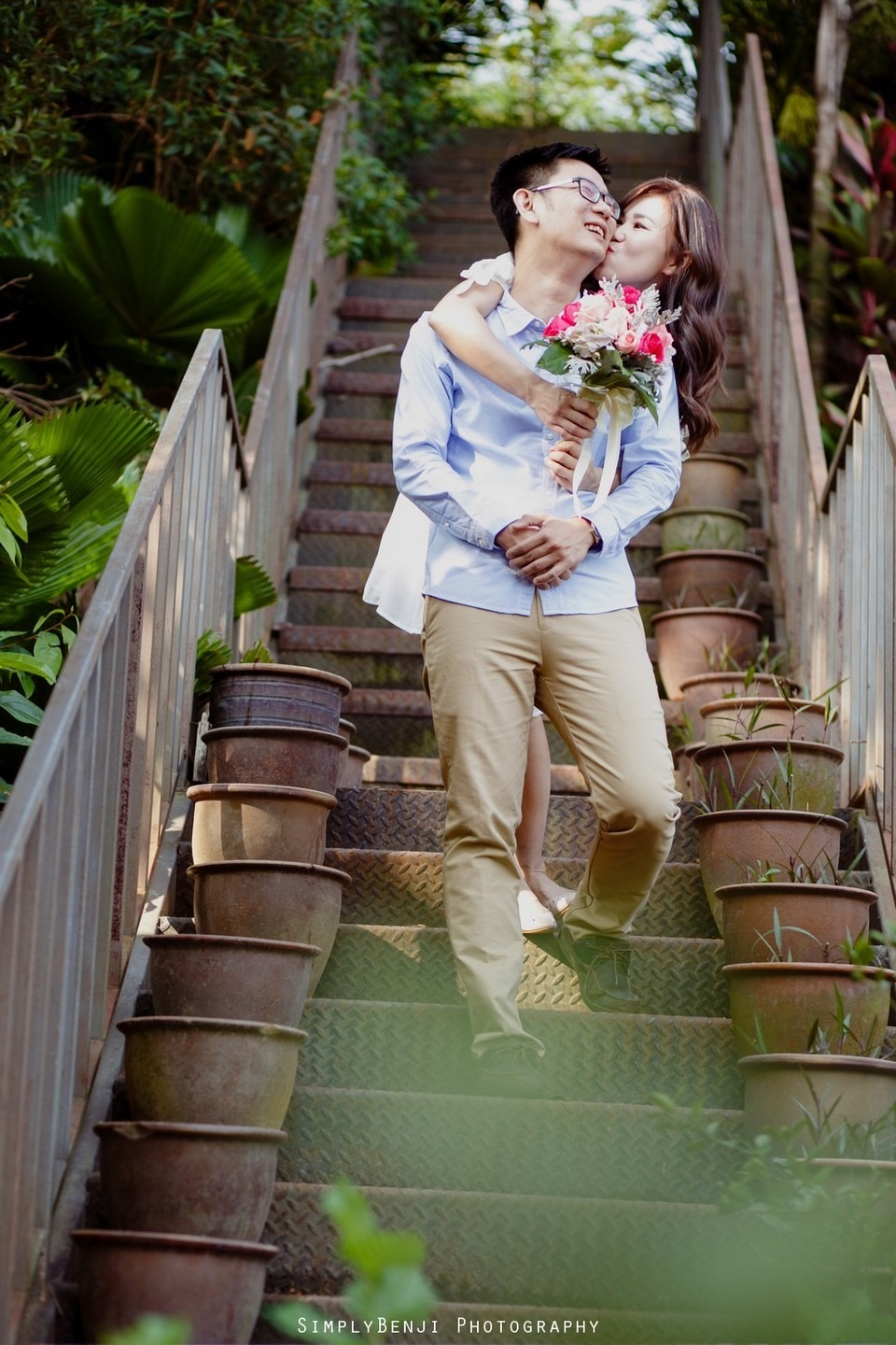 ROM Thean Hou Temple Engagement Portrait _KL Wedding Photographer Malaysia_001