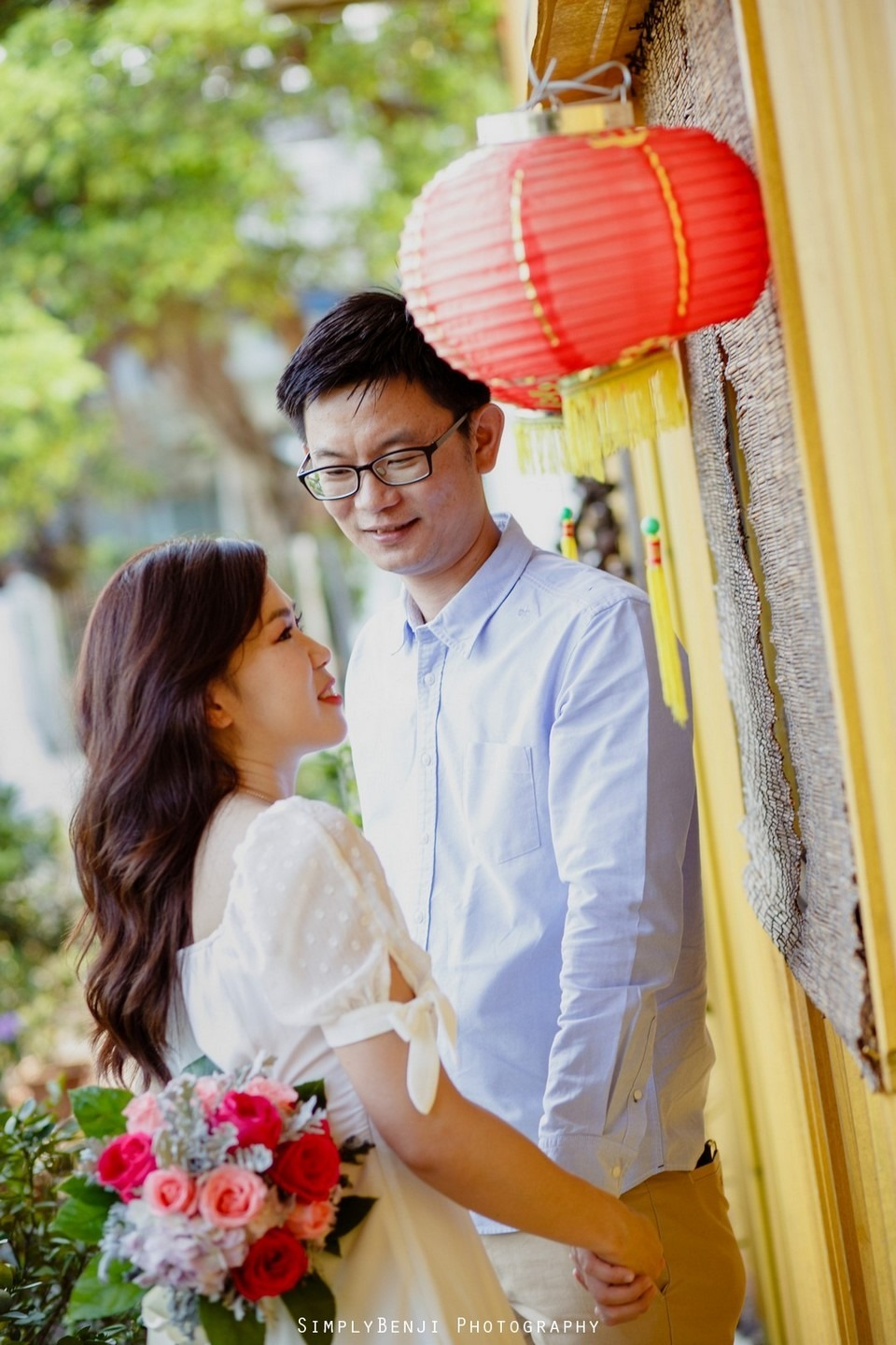 ROM Thean Hou Temple Engagement Portrait _KL Wedding Photographer Malaysia_003