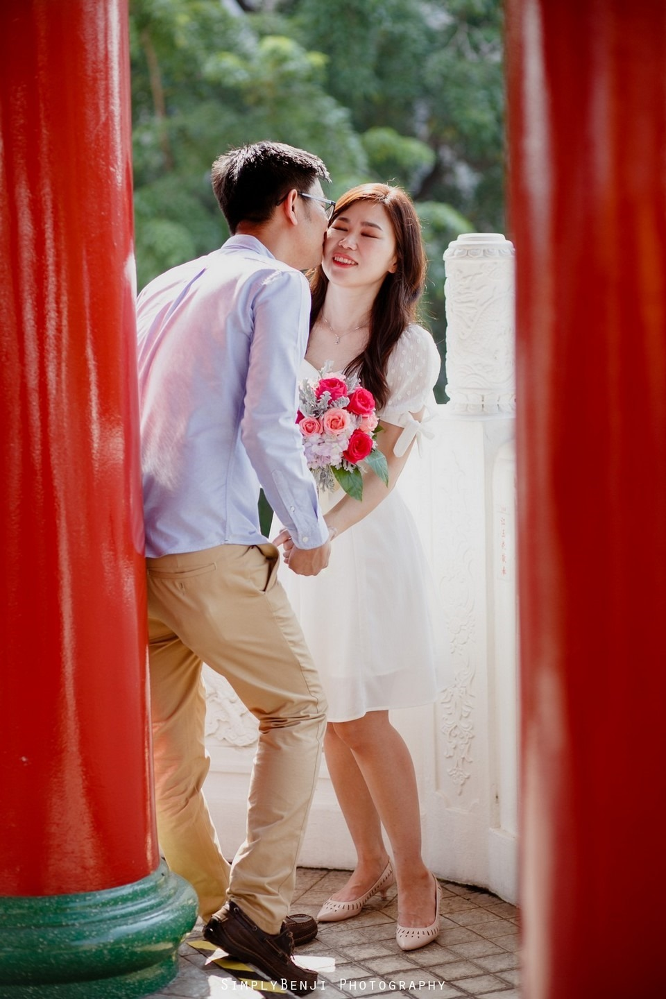 ROM Thean Hou Temple Engagement Portrait _KL Wedding Photographer Malaysia_005