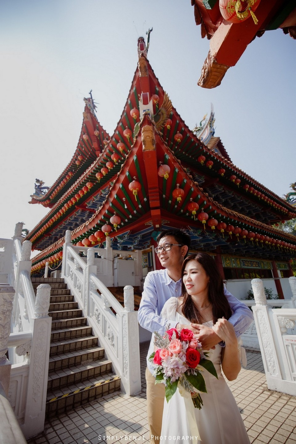 ROM Thean Hou Temple Engagement Portrait _KL Wedding Photographer Malaysia_006
