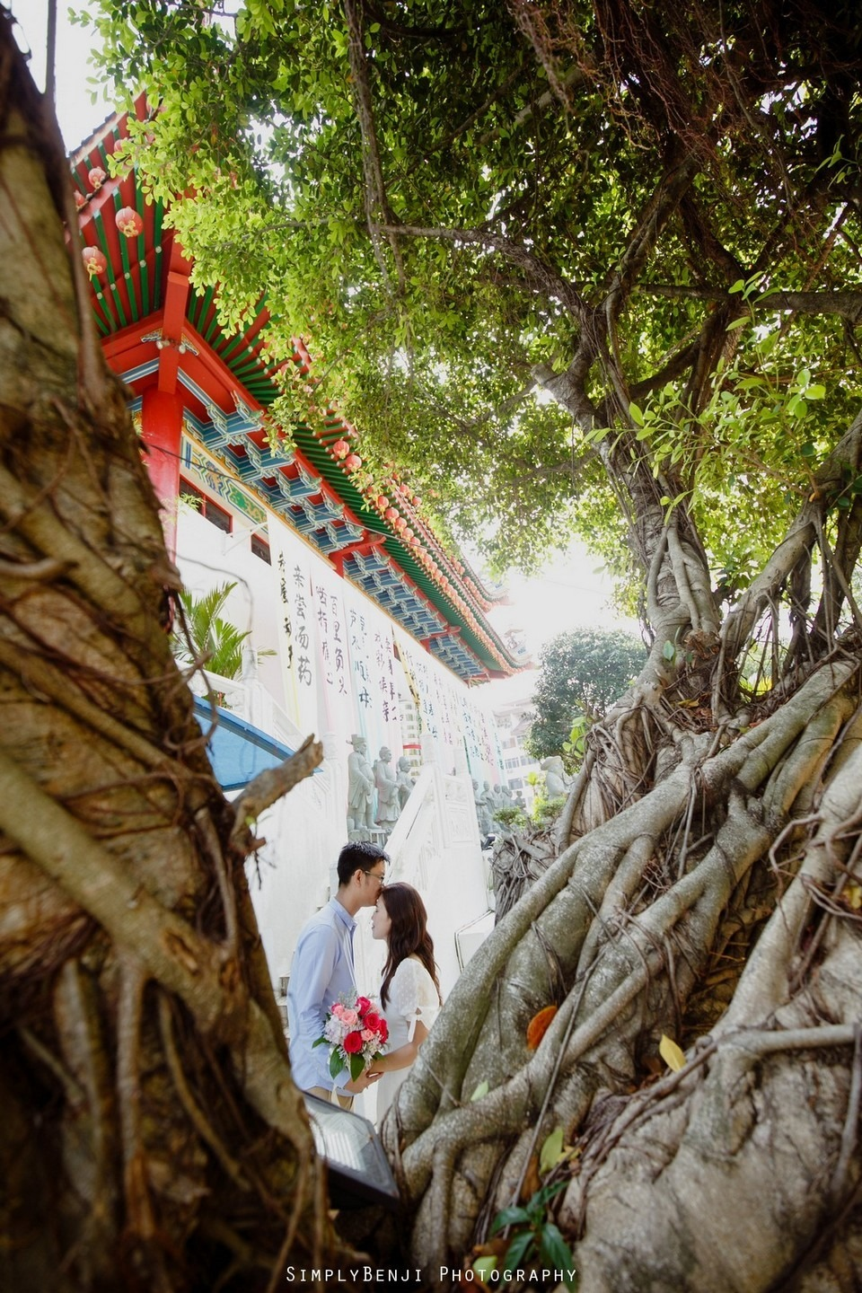ROM Thean Hou Temple Engagement Portrait _KL Wedding Photographer Malaysia_008