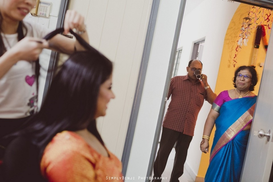 Tamil Hindu Wedding Ceremony at Railway Maha Ganapathy Temple and Reception at Adonis Bridal Ipoh_KL Photographer_003