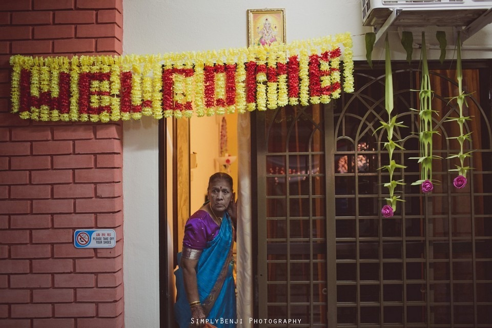 Tamil Hindu Wedding Ceremony at Railway Maha Ganapathy Temple and Reception at Adonis Bridal Ipoh_KL Photographer_014