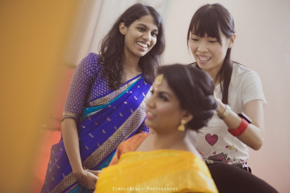 Tamil Hindu Wedding Ceremony at Railway Maha Ganapathy Temple and Reception at Adonis Bridal Ipoh_KL Photographer_030