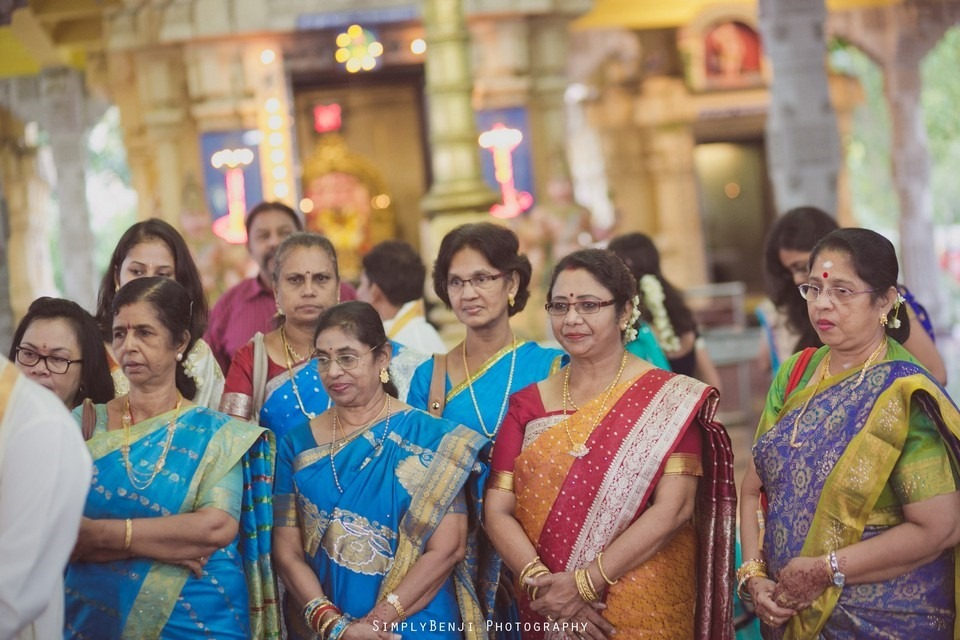 Tamil Hindu Wedding Ceremony at Railway Maha Ganapathy Temple and Reception at Adonis Bridal Ipoh_KL Photographer_080