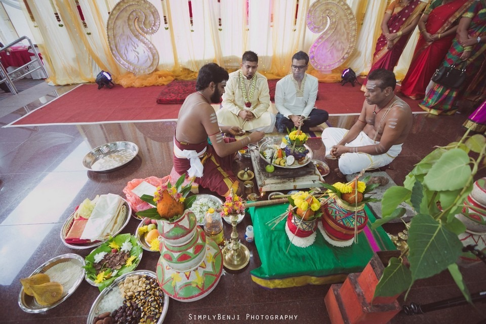 Tamil Hindu Wedding Ceremony at Railway Maha Ganapathy Temple and Reception at Adonis Bridal Ipoh_KL Photographer_083