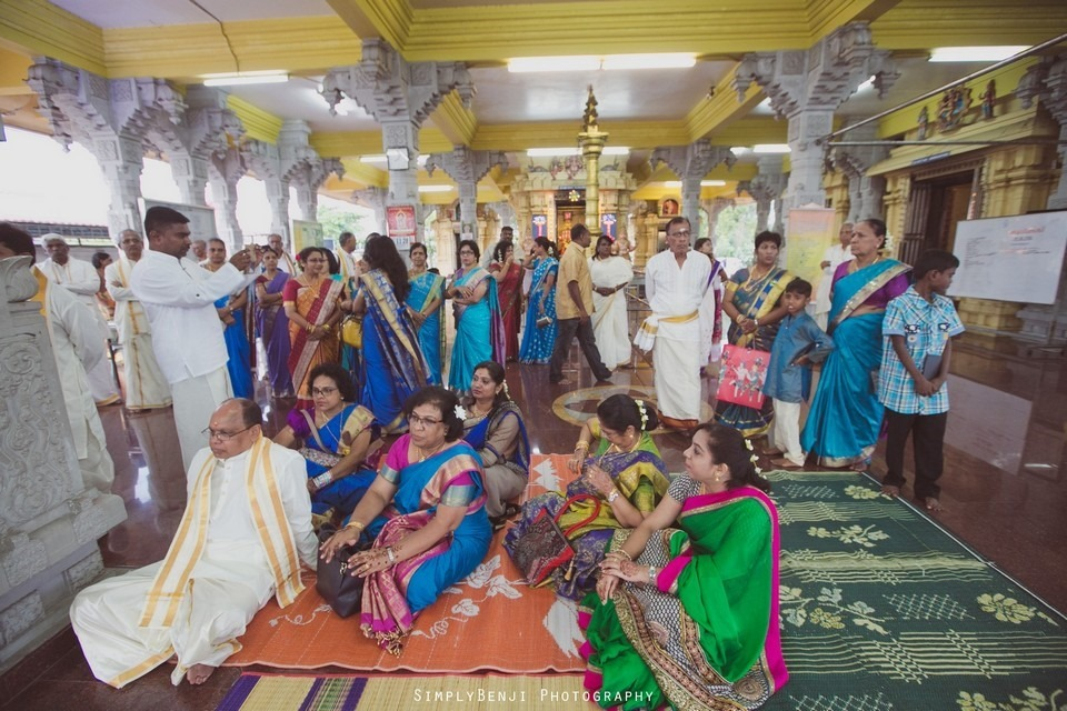 Tamil Hindu Wedding Ceremony at Railway Maha Ganapathy Temple and Reception at Adonis Bridal Ipoh_KL Photographer_085