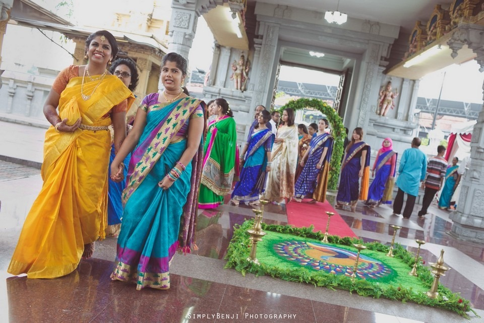 Tamil Hindu Wedding Ceremony at Railway Maha Ganapathy Temple and Reception at Adonis Bridal Ipoh_KL Photographer_114