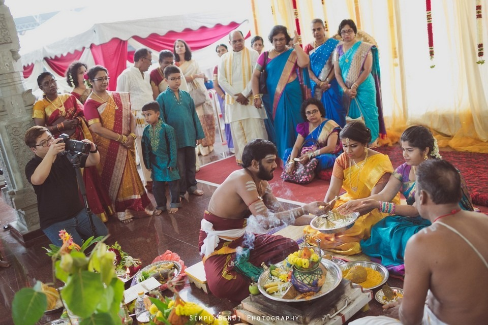 Tamil Hindu Wedding Ceremony at Railway Maha Ganapathy Temple and Reception at Adonis Bridal Ipoh_KL Photographer_122