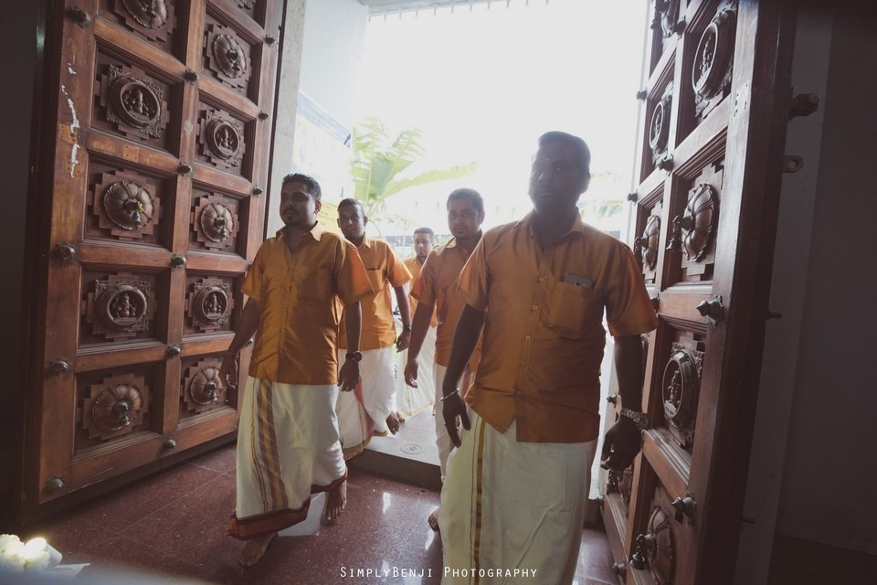 Tamil Hindu Wedding Ceremony at Railway Maha Ganapathy Temple and Reception at Adonis Bridal Ipoh_KL Photographer_143