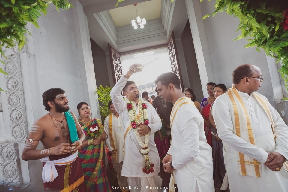 Tamil Hindu Wedding Ceremony at Railway Maha Ganapathy Temple and Reception at Adonis Bridal Ipoh_KL Photographer_148