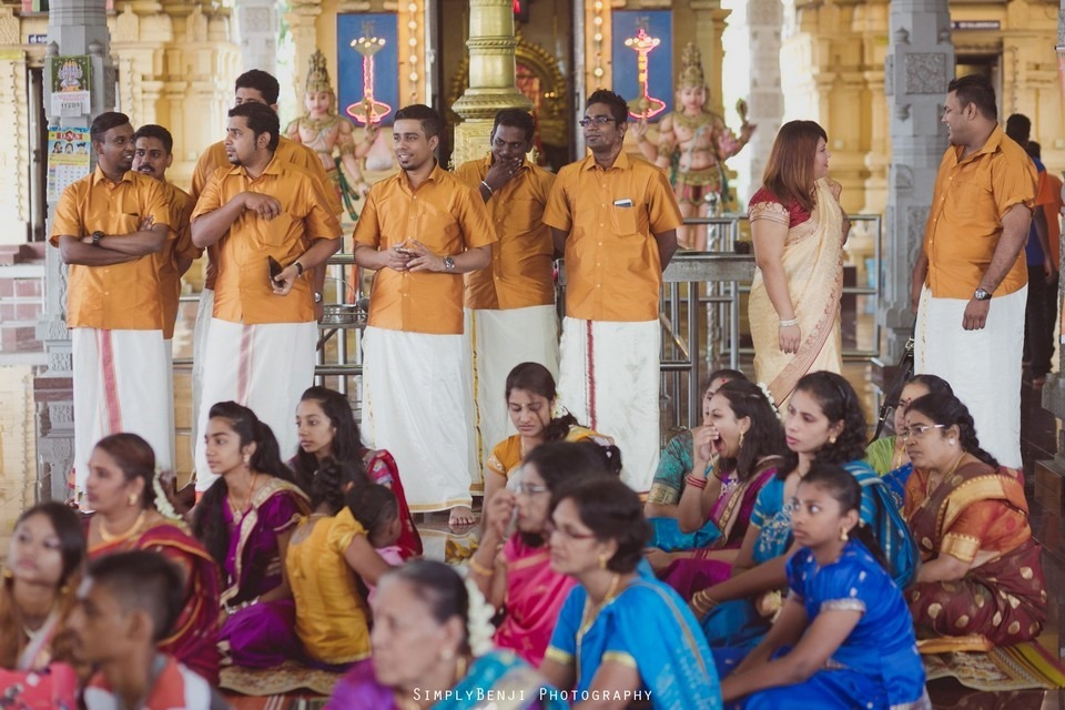 Tamil Hindu Wedding Ceremony at Railway Maha Ganapathy Temple and Reception at Adonis Bridal Ipoh_KL Photographer_158