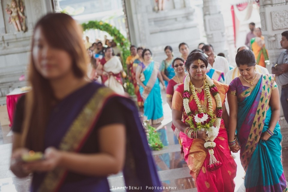 Tamil Hindu Wedding Ceremony at Railway Maha Ganapathy Temple and Reception at Adonis Bridal Ipoh_KL Photographer_173
