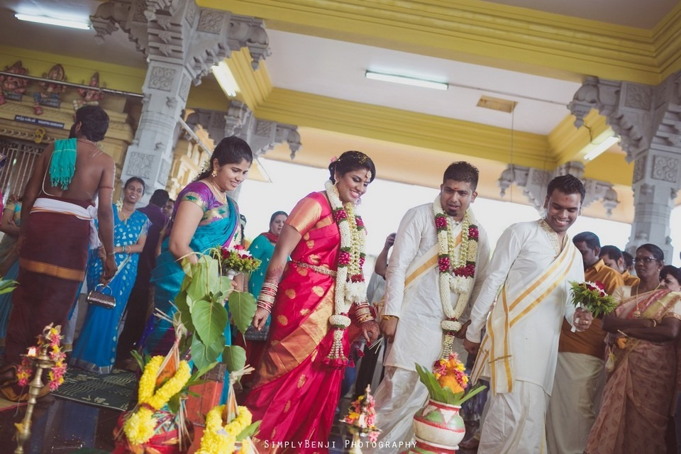 Tamil Hindu Wedding Ceremony at Railway Maha Ganapathy Temple and Reception at Adonis Bridal Ipoh_KL Photographer_199