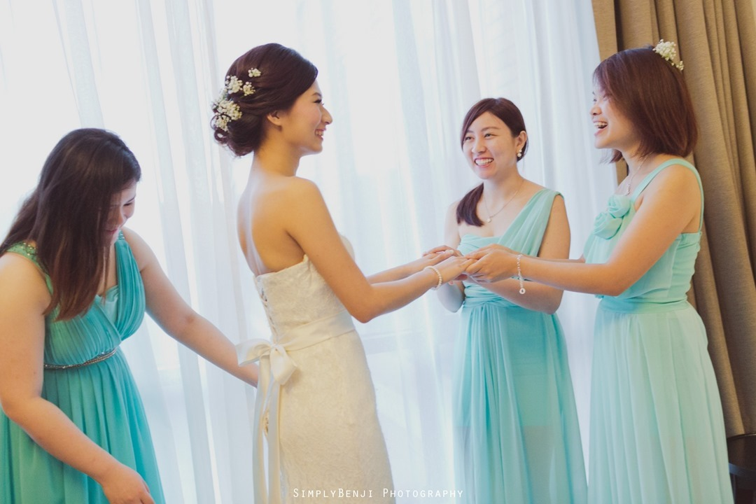 009_Buddhist Garden Style Rooftop Wedding Ceremony & Reception at WEIL Hotel Ipoh Tiffany Blue Theme Bridesmaids Dress _00001