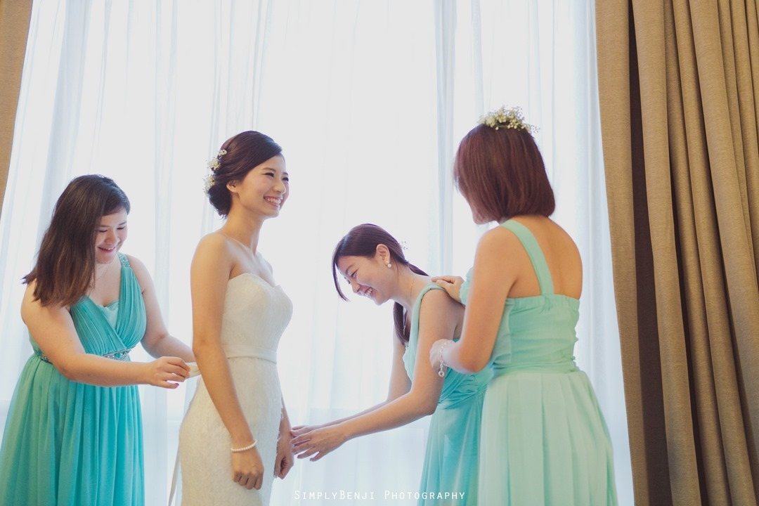 010_Buddhist Garden Style Rooftop Wedding Ceremony & Reception at WEIL Hotel Ipoh Tiffany Blue Theme Bridesmaids Dress _00002