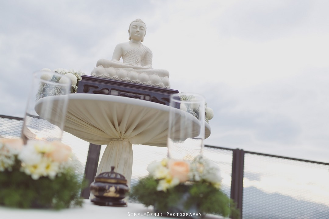 023_Buddhist Garden Style Rooftop Wedding Ceremony & Reception at WEIL Hotel Ipoh Tiffany Blue Theme Bridesmaids Dress Deco Details_00005