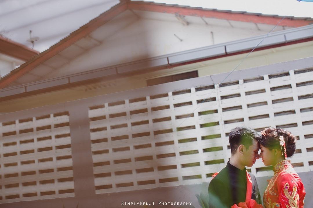 032_Bridal Couple Portrait_Chinese Wedding Gate Crashing at Petaling Jaya_033