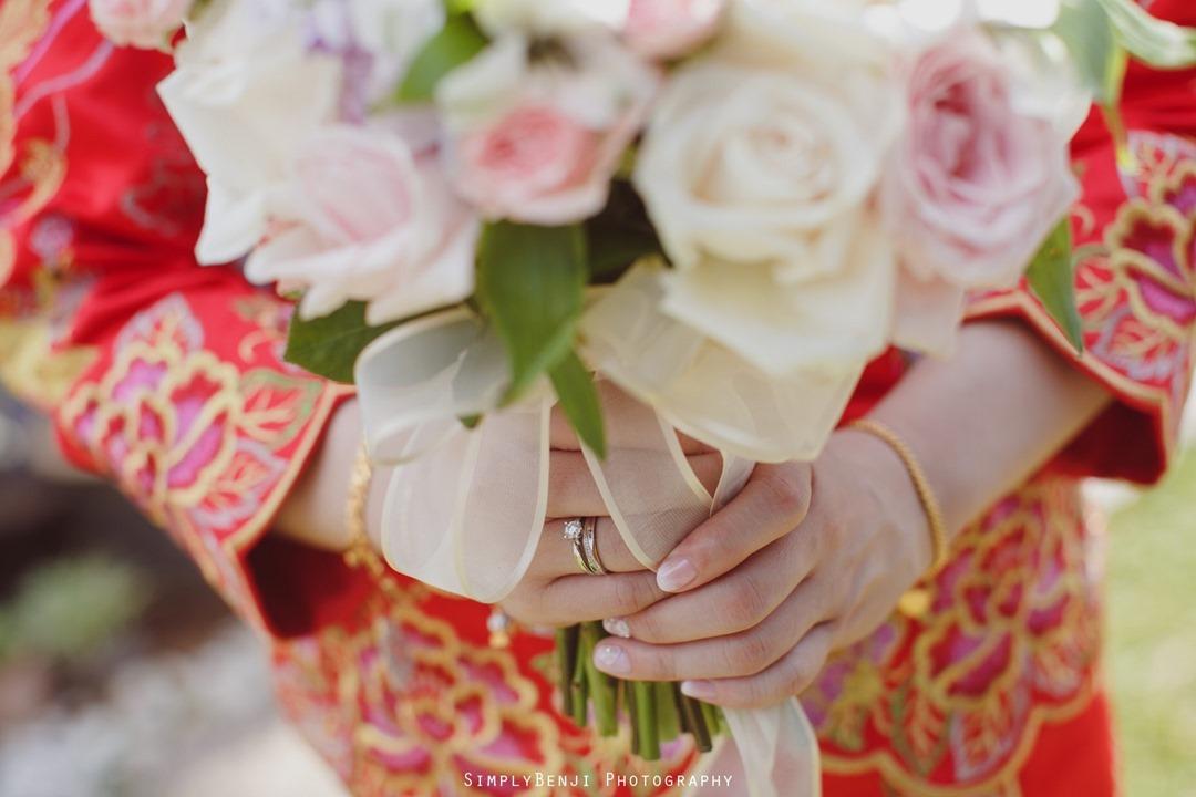 033_Wedding Rings Traditional Red Kua_Chinese Wedding Gate Crashing at Petaling Jaya_034