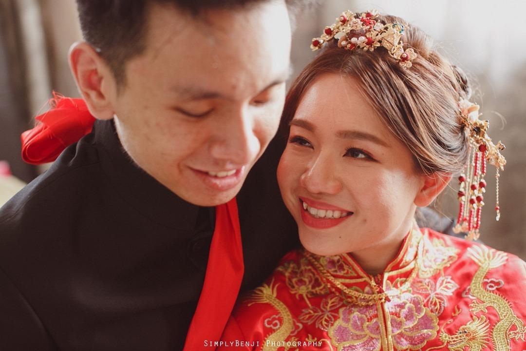 034_Bridal Couple Portrait_Chinese Wedding Gate Crashing at Petaling Jaya_035