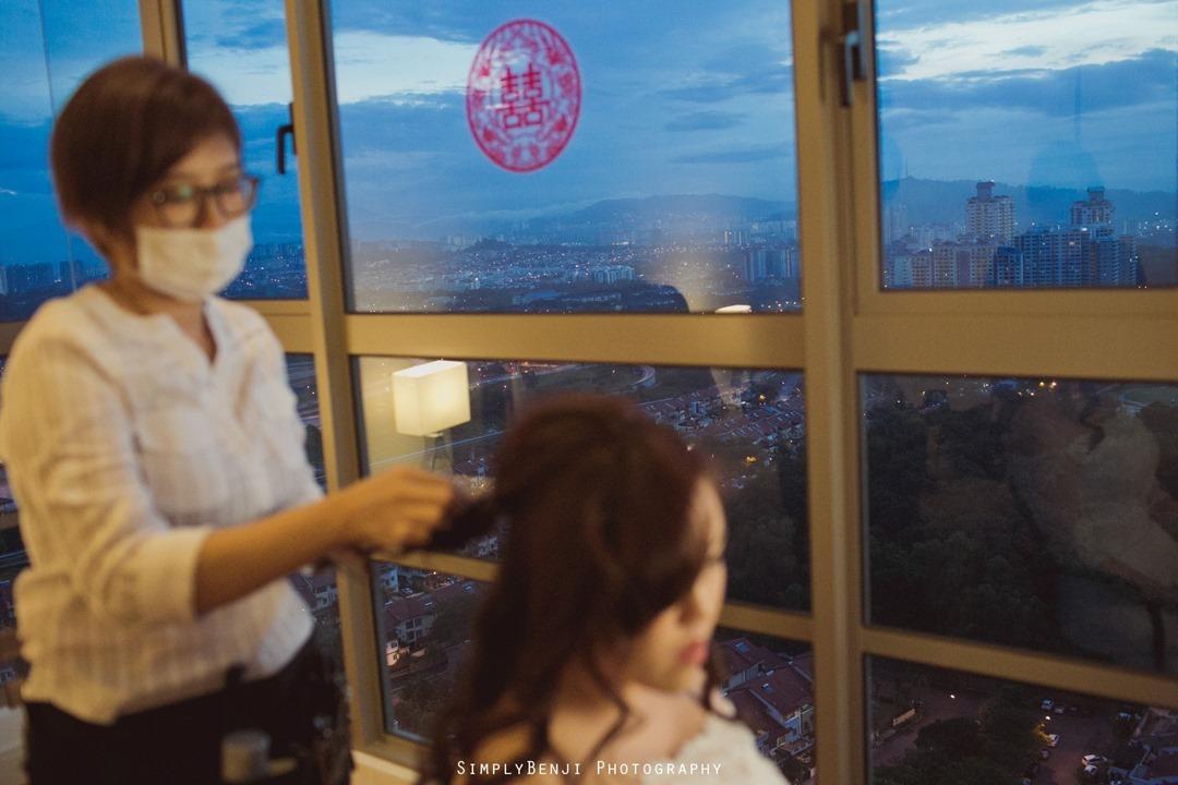 Chinese Wedding Gate Crashing at KM1 East Condominium & Wedding Reception at Concorde Hotel Kuala Lumpur_00002