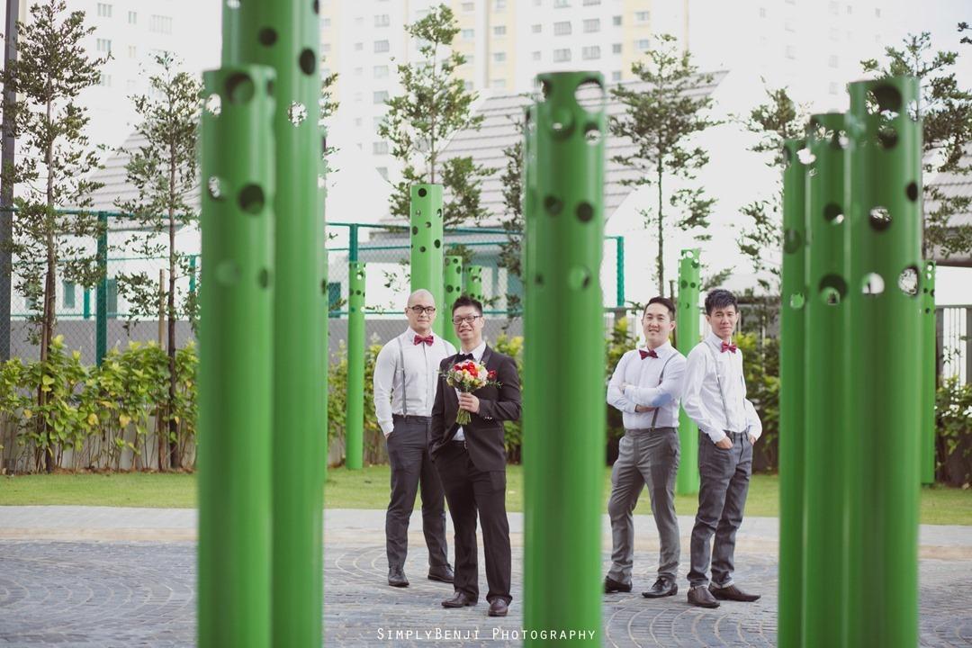 Chinese Wedding Gate Crashing at KM1 East Condominium & Wedding Reception at Concorde Hotel Kuala Lumpur_00013