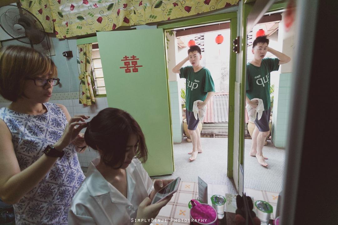 Village Style Vintage Classic Chinese Wedding Gate Crashing at Karak & Wedding Reception at Sin Choi Wah Restaurant_00013